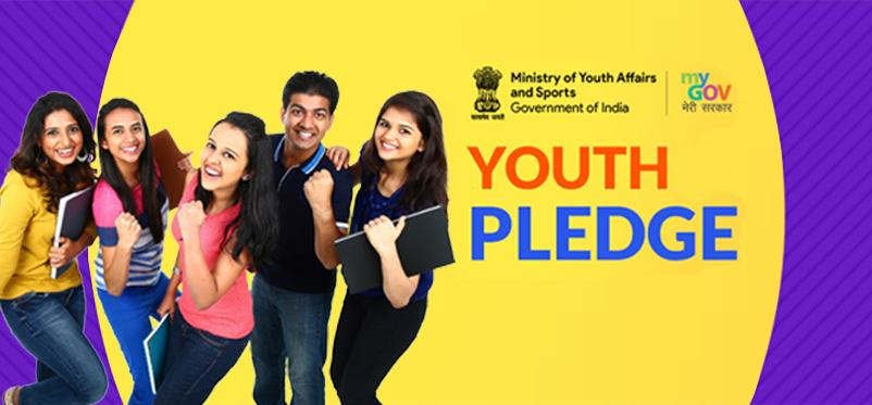 Youth Pledge Home page